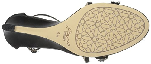 Badgley Mischka Jewel Womens Sandalen Zwart Met Wiggen