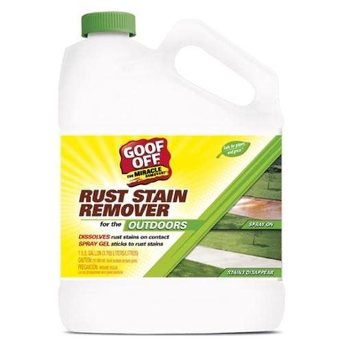 Goof Off GSX00101 1 Gallon Rust Stain Remover (Pack of 3)