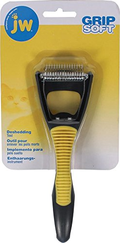 JW Pet Cat Deshedding Tool 65049