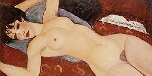 Reclining Nude Poster Print by Amedeo Modigliani (10 x 20)