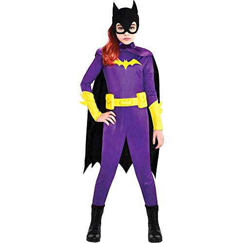Batgirl Halloween Costume Accessories (Party City Batgirl Halloween Costume for Girls, DC Super Hero Girls, Small, Includes)