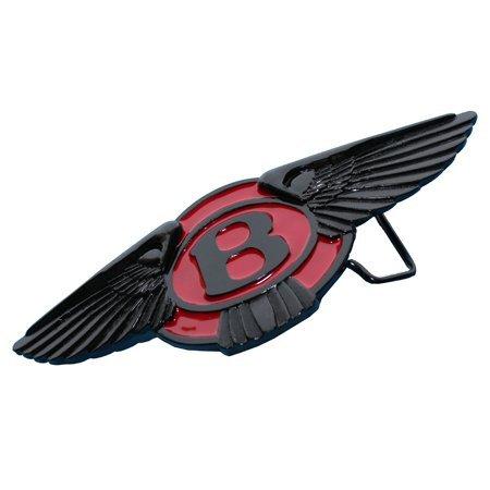 ZAKKA CANADA Bentley Racing Car Enamel Belt Buckle Black