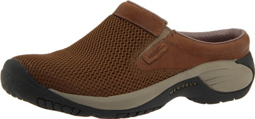Merrell Men's Encore Bypass Slip-On Shoe,Dark Earth,8.5 M US (Merrell Fur Clog)
