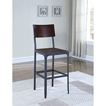 Magnificent Amazon Com American Woodcrafters Austin Industrial 29 Bar Ncnpc Chair Design For Home Ncnpcorg