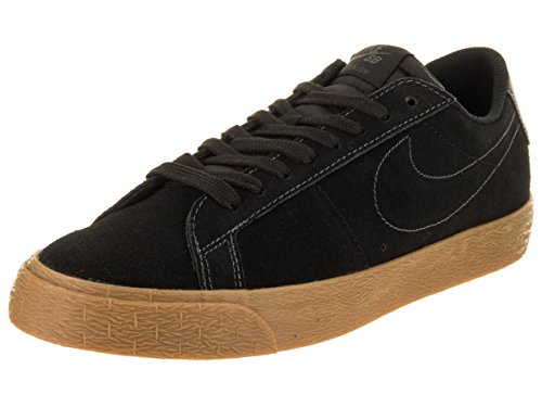 Nike Mens Sb Zoom Blazer Basso Pattino Nero / Nero Antracite