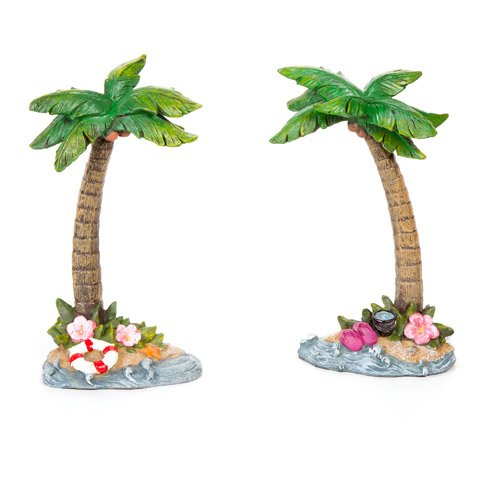 Beach Fairy Garden - Palm Tree - 3.75 x 7.25 in - x 1 Piece