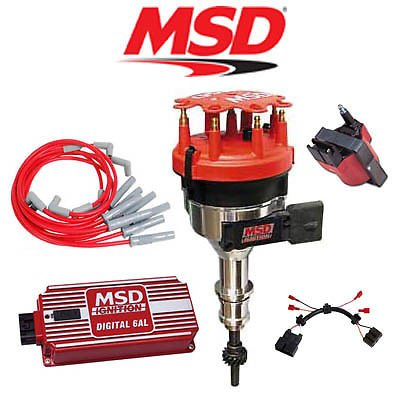 MSD Ignition Kit - Digital 6AL/Distributor/Wires/Coil/Harnes