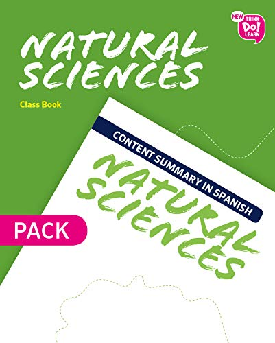 New Think Do Learn Natural Sciences 6. Class Book + Content summary in Spanish Pack Andalusia Edition: Amazon.es: Libros en idiomas extranjeros