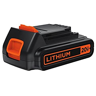 BLACK+DECKER LBXR20 20V MAX Extended Run Time Lithium Ion Tool Battery