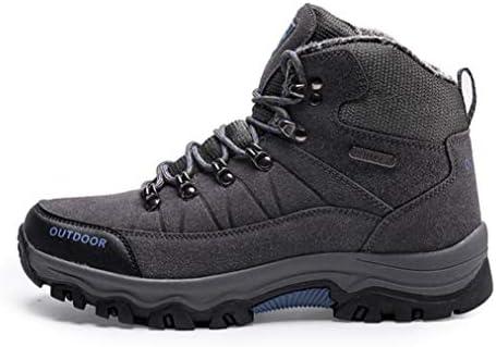 トレッキングブーツ スノーブーツ メンズ 冬靴 防寒靴 防水 ウィンターブーツアウトドア 保暖 裏起毛 滑り止め スノーシューズ スニーカー ウォーキングシューズ 雪靴 レースアップ 厚底 登山靴 ワークブーツ