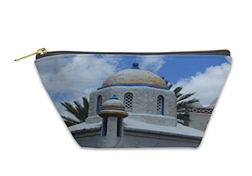 Gear New Accessory Zipper Pouch, Whitewashed Stone Building, Small, 5917243GN - Whitewashed Buildings