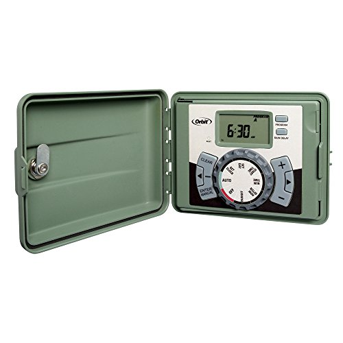 Orbit 57894 4-Station Outdoor Swing Panel Sprinkler System Timer ()