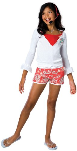 Gabriella Lifeguard - Medium (Kids Costumes High School Musical Gabriella)