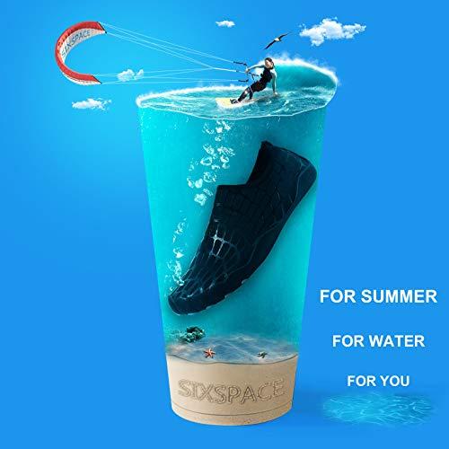 Eu 5 Unisex See 45 Wasserschuhe Schwarz Herren 04 Schwimmschuhe Yoga Uk Black Pool Schnelltrocknend Für Wassergymnastik Sand Schwimmen 10 Strand Surf WA0Z0pqUf