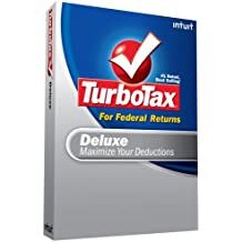 TurboTax Deluxe Federal + eFile 2008 [OLD VERSION]