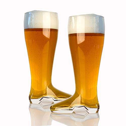 Domestic Corner Das Boot Beer Mug, 2 Liter, 2 Pack
