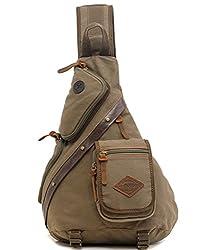 Life Boost Casual Sling Backpack Cross Body Bag Shoulder Bag Chest Bag