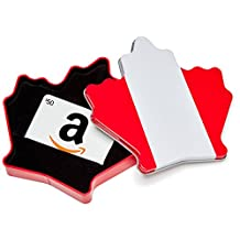 Amazon.ca $50 Gift Card in a Maple Leaf Tin (Classic White Card Design)