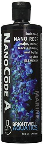 Brightwell Aquatics ABANCA500 Nanocode A Liquid Salt Water Conditioners for Aquarium, 17-Ounce