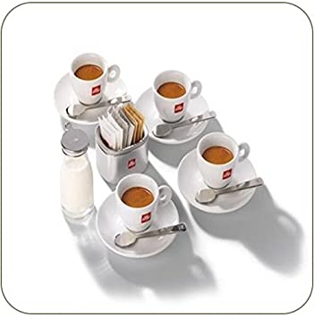 ILLY ART COLLECTION   WELCOME TO THE ILLY WORLD By Matteo Thun   4 Espresso  Cups
