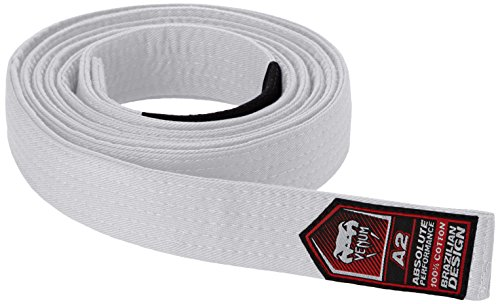 - Venum BJJ Belt, White, A2