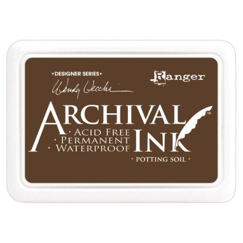 Ranger Wendy Vecchi Designer Series Archival Ink Pad, Potting Soil
