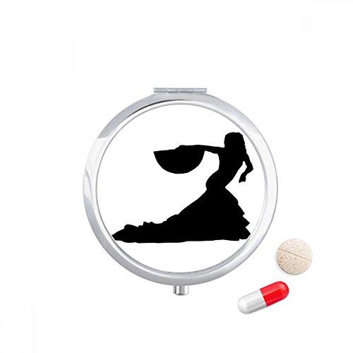 dancer fan dancing pocket pill
