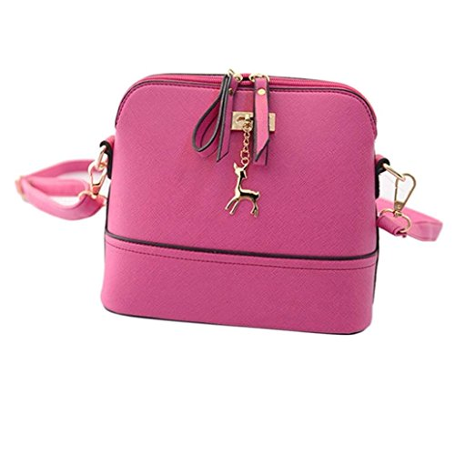 Elegante bolso de hombro Mr.yyg rose red