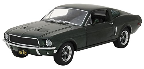 GreenLight - (1:24 Scale) Bullitt (1968) - 1968 Ford Mustang GT Fastback - - Diecast Replica Diecast Car