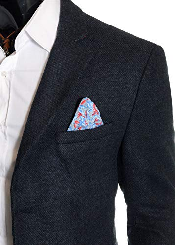 Morbido Blu Fashion Inverno Scuro D Elegante Cachemire Soprabito Autunno Da amp;r 3 Giacca Uomo Lunga 4 1BnqPUw6x