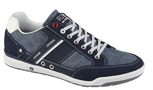 Bleu Chaussures Homme Lacets Route à Ville 21 de pour Marine 85WqwP4