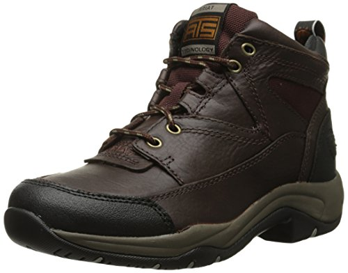 Ariat Women's Terrain Hiking Boot, Cordovan, 8.5 B US