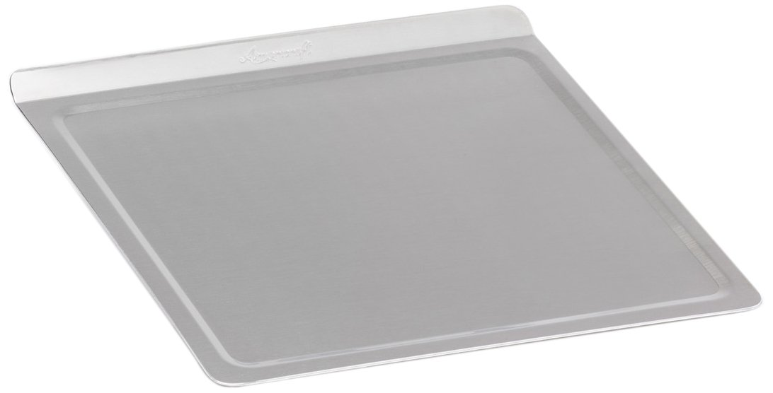 360 Cookware Stainless Steel Bakeware, Medium Cookie Baking Sheet, American Made, Lasts a Lifetime, Use as a Baking Pan, Roasting Pan or Pizza Pan. Professional Grade 12 Inch x 12 Inch
