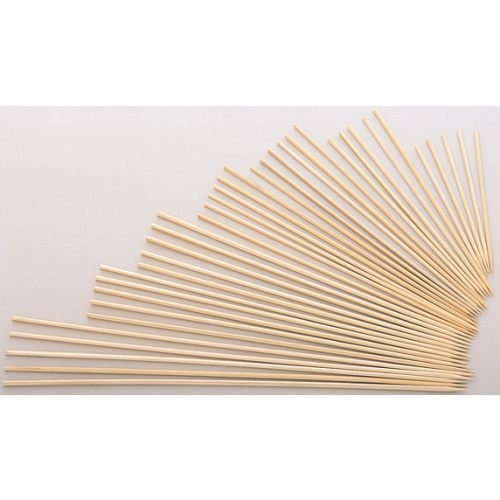 Bamboo Skewer, 8'' 12/16/100 Case by Goldmax