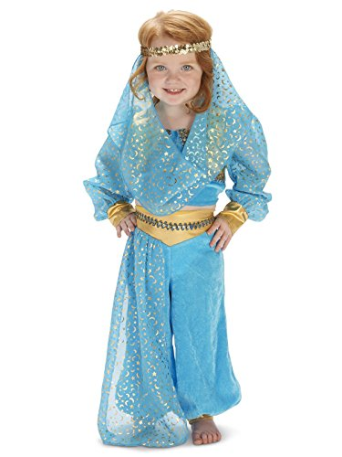 Dream Weavers Costumers Mystic Genie Toddler Dress Up Costume 4T