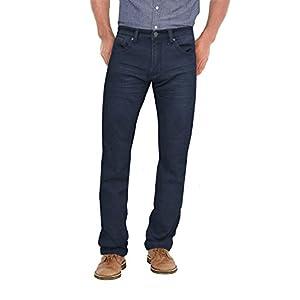 ETHANOL Mens Super Comfy Slim Stretch Knit Jersey Denim Five Pocket Jean