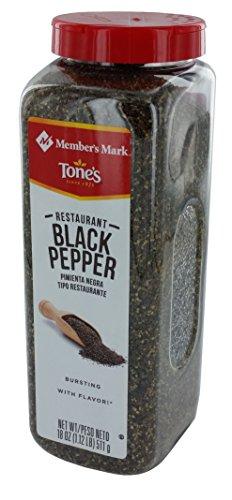 Member's Mark Restaurant Black Pepper by Tone's (18 - Black Restaurant Pepper