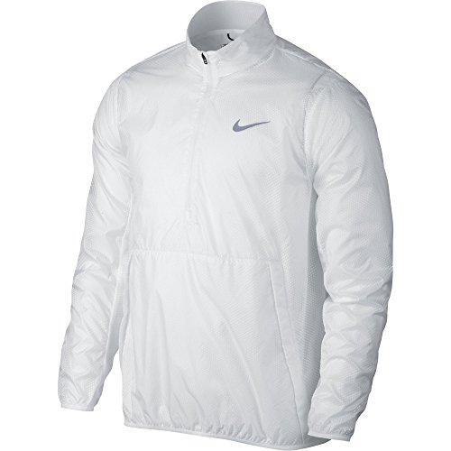 NIKE Men's HyperAdapt Shield Lite Golf Jacket-824604-100-S by NIKE (Image #1)