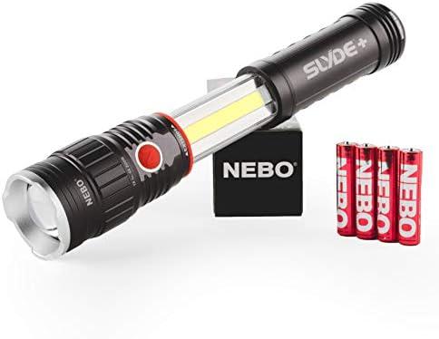 with 200 Lumen COB LED Work Light; Featu NEBO 300-Lumen LED Magnetic Flashlight
