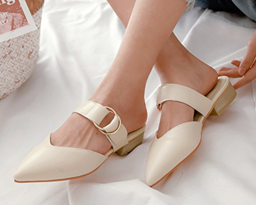 HiTime Mules Femme Beige HiTime Femme Mules Beige Beige Mules HiTime HiTime Mules Femme aSwfqTC