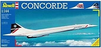 Revell Concorde 1:144 Scale Model Kit -Plastic Model Kit