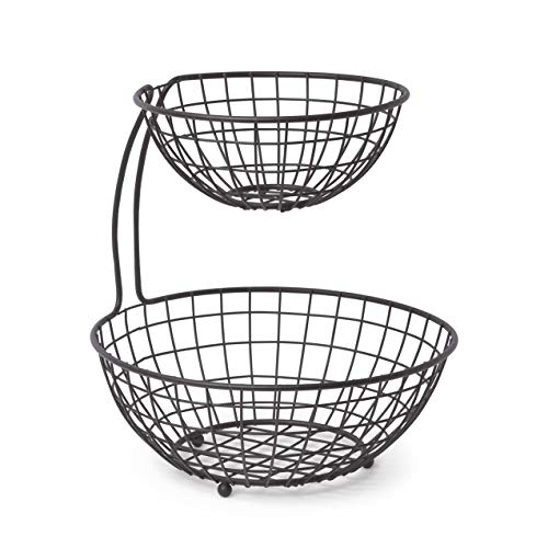 Basket Server - Spectrum Diversified Grid 2-Tier Server, Industrial Gray