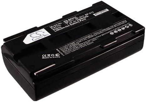 VINTRONS Li-Ion Battery Pack Fits Canon FV1, V75Hi, BP-911K, BP ...