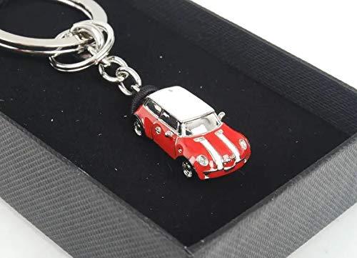 Amazon.com: Mini coche llavero/Chili – Rojo: Automotive