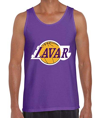 "The Silo PURPLE Los Angeles LAVAR ""Logo"" TANK TOP ADULT"
