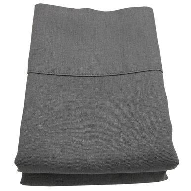 Linoto 100% Linen Pillowcases 31x20, Standard, Graphite by Linoto