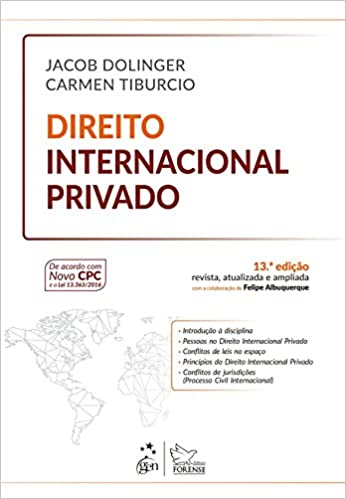 livro direito internacional privado jacob dolinger