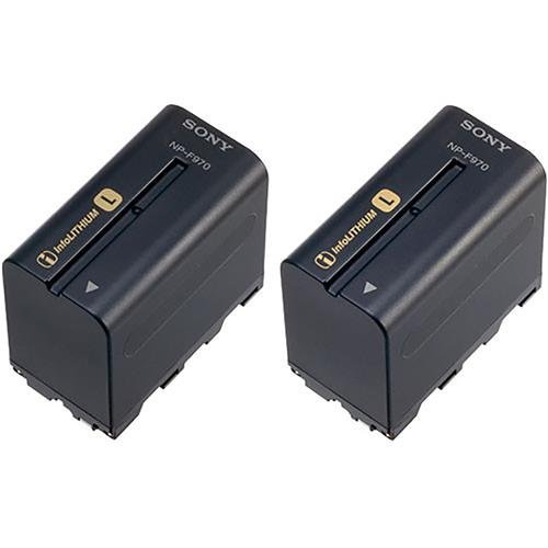 Sony NP-F970 L-Series Info-Lithium Battery 2 Pack (7.2v, 6300mAh) by Sony