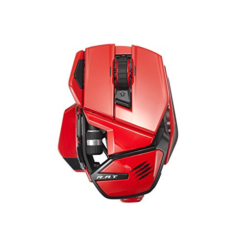 Mad Catz Office R.A.T. Wireless Mouse for PC and Android - Red