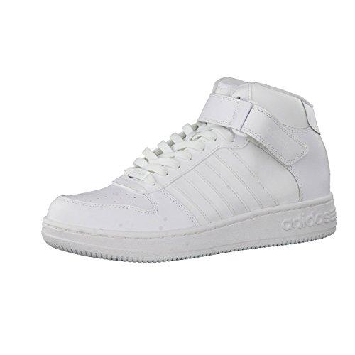 adidas équipe court mid Chaussures de sport pour homme Blanc–(Ftwbla/Ftwbla/Ftwbla)